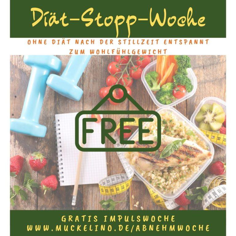 Diaet Stopp Woche 1